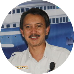 Elfien Goentoro (In Confirmation) CEO. Indonesian National Shipping Corporation (PT. PELNI)